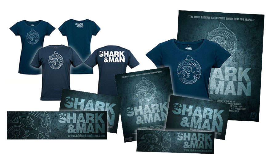 Of Shark and Man Merchandise Store Is Live!