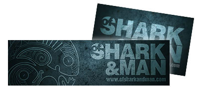 of-shark-and-man-stickers
