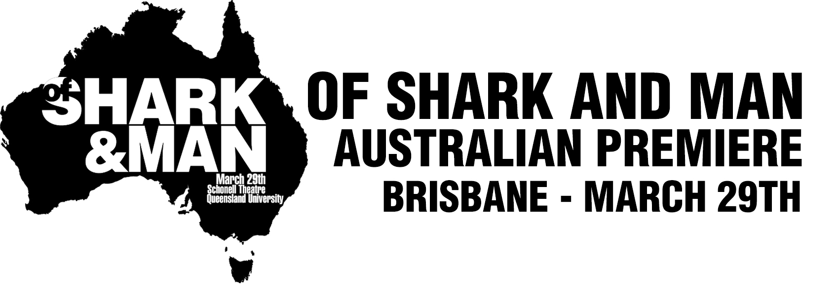 Of Shark and Man Australian Premiere